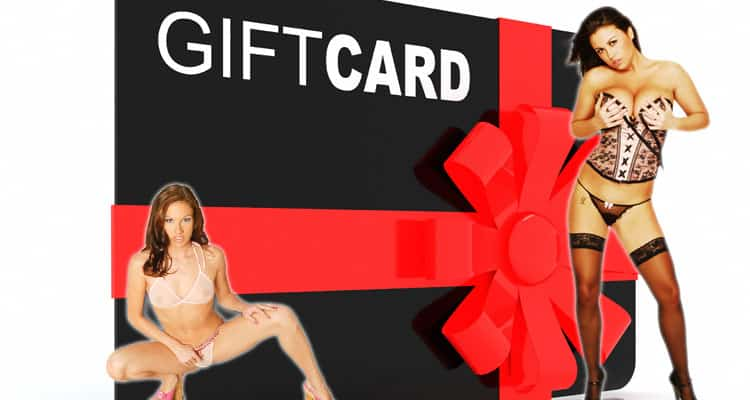 Gift cards for porn
