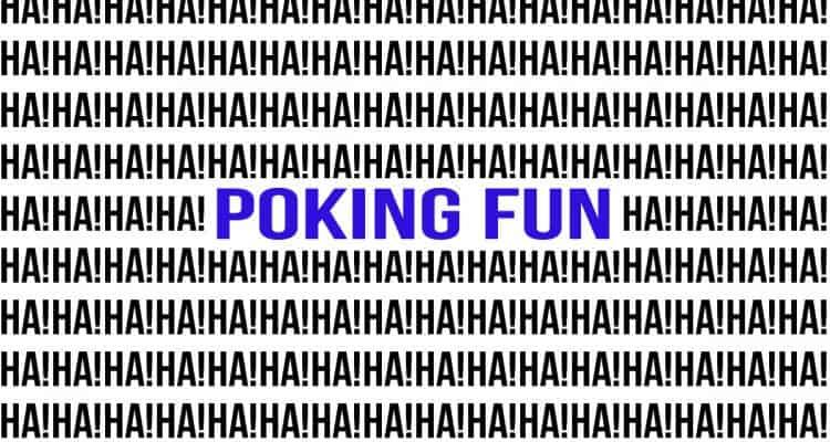 pokingfunblue