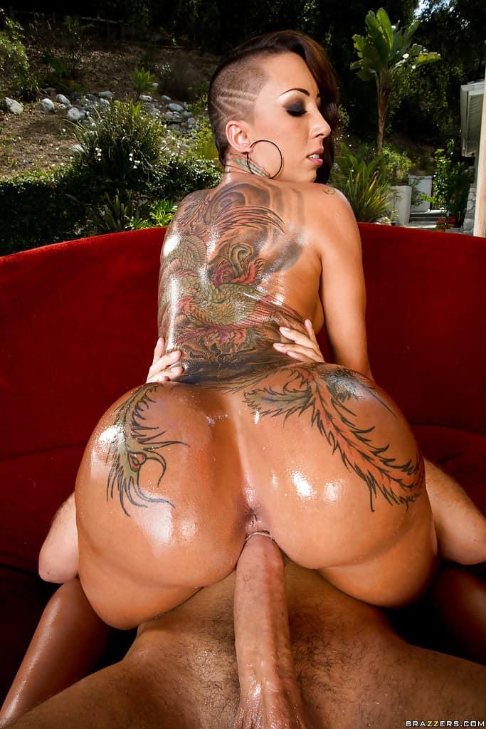 Tattoo spider boobs porn kink