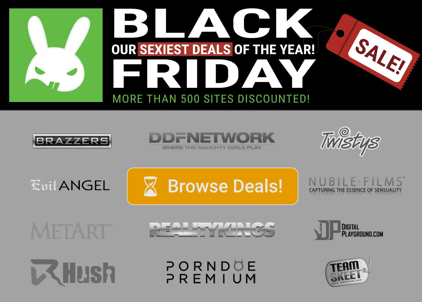 black friday porn deals