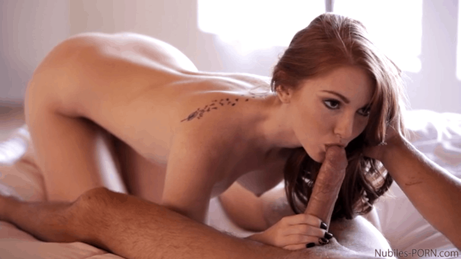 Hot RedHead Give Hotter Blowjob