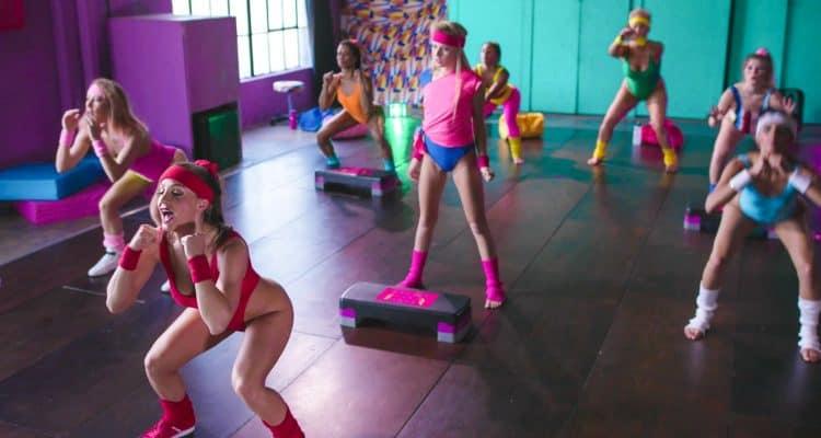 Girlcore yoga